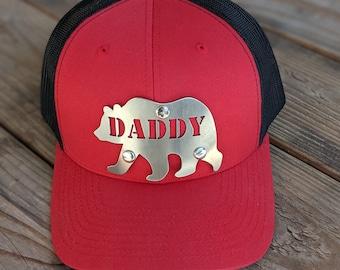 Bear Silhouette Baseball Cap