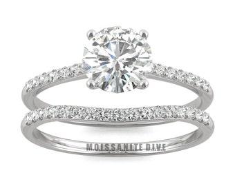 Moissanite rings | Etsy