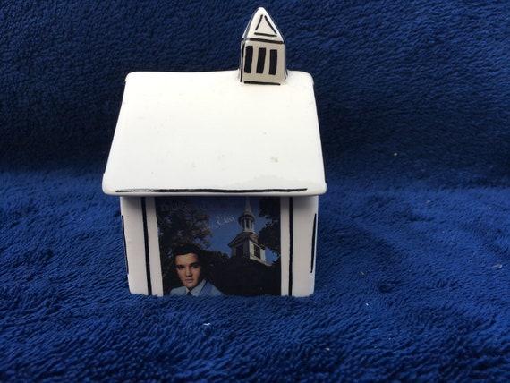 Elvis Presley Chapel Two Piece Salt & Pepper Shaker Set