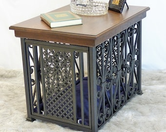 Superieur Dog Crate Table   Etsy