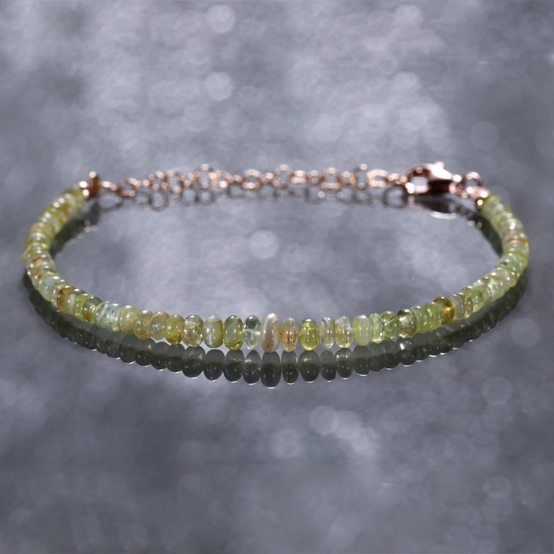 Chrysoberyl bracelet Cat/'s eye bracelet gemstone bracelet chrysoberyl Cat/'s eye bracelet green chrysoberyl jewelry gift for friend