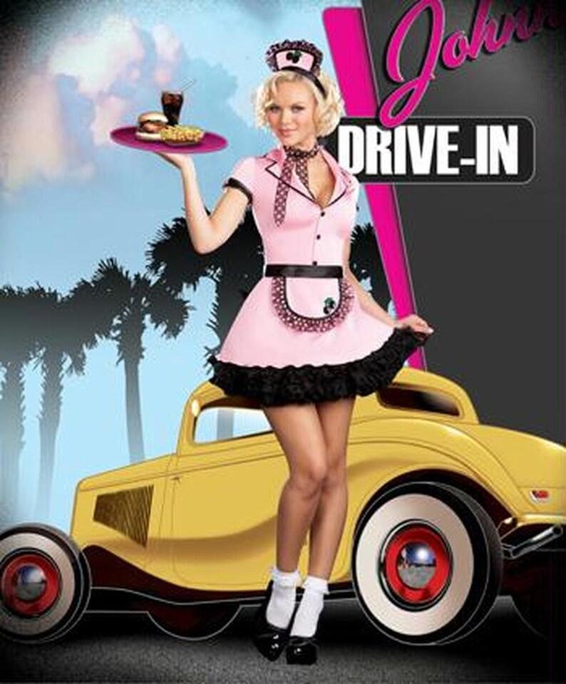 Sherri Cola Diner Costume Xl Size 14-16