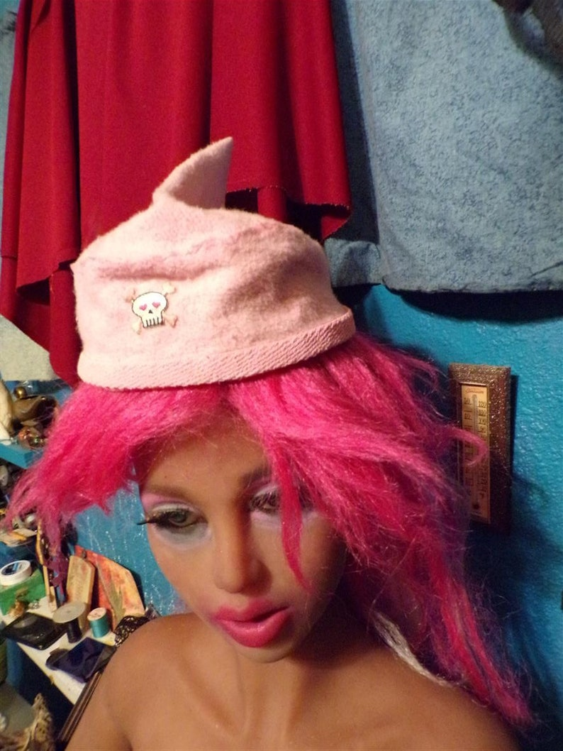 HEMP HAT EMF Blocking Terry Cloth Pirate Stitch