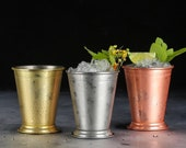 Mint Julep Cup - Mint Cocktail Metal Cup - Steel Barware Bartender Supplies
