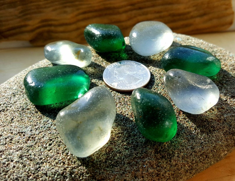 Genuine sea glass A225