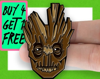 Genuine Marvel Comics Guardians Of The Galaxy Awesome Mix Vol 2 Metal Pin Badge