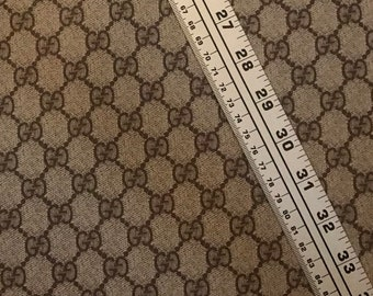 7fdbd22abb0 Gucci GG classic monogram vinyl fabric