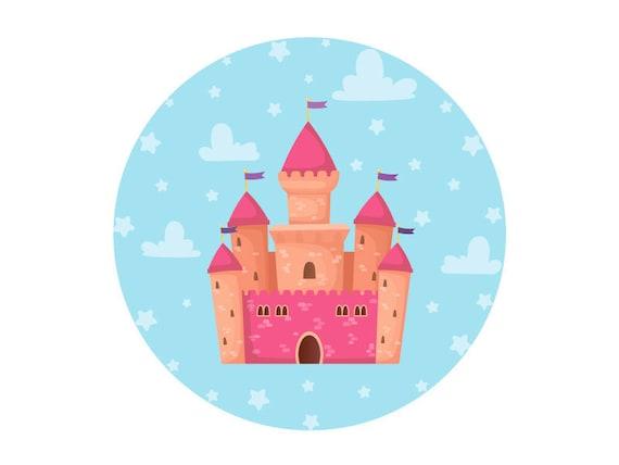 Dream Fairy Tale Castle For Girl S Design Room Clothing Etsy