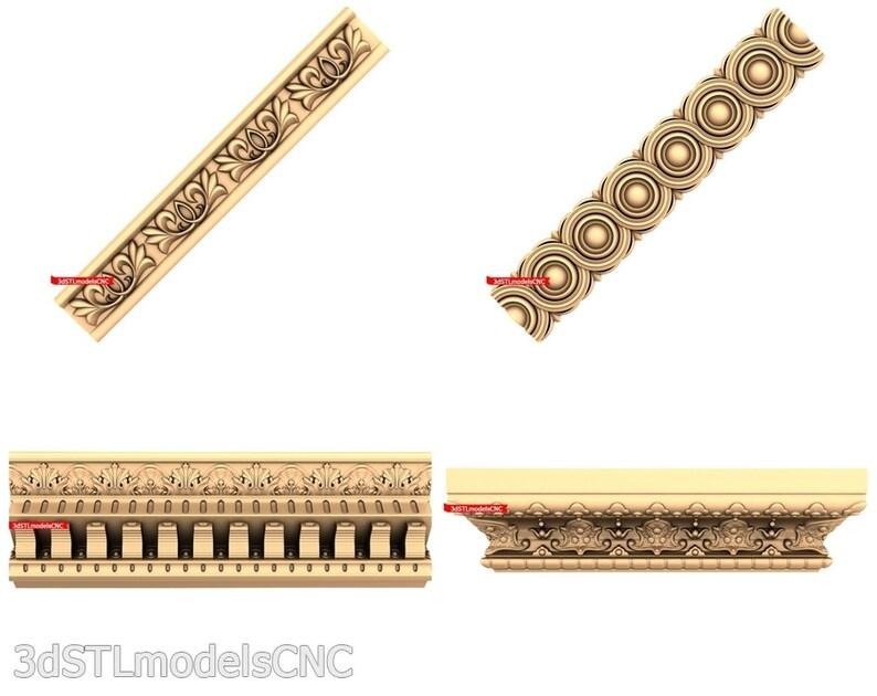 3D STL CNC Models 21pcs Characters collection for CNC Router Carving Machine Printer Relief Artcam Aspire Cut3d