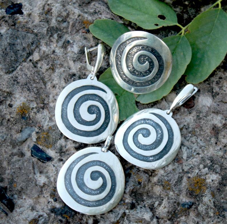 Round Silver Earrings Silver Women/'s Earrings Sun Sterling Earrings Sterling Silver Ring Earrings Necklace For Her Dungle Earrings