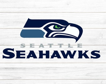 graphic regarding Printable Seahawks Logo identified as Seahawk brand Etsy