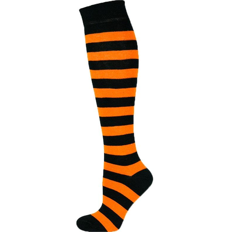 Mysocks 5 Pairs Knee High Socks Stripe