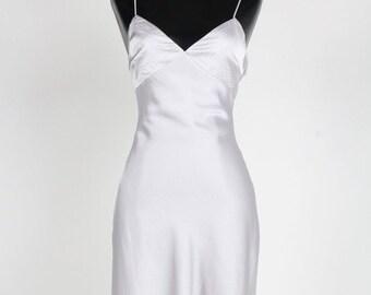 993921690635 Midi Satin Sleeveless Slip Dress - Custom Women Sleeveless Midi Slip Dress