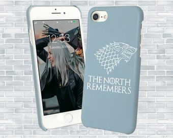 c5e64237a Wolf The North Remembers Case Iphone Case, Game Of Thrones Iphone 6 7 8 X  XS Phone Cover, Tv Series Samsung Phone Case, Huawei Case