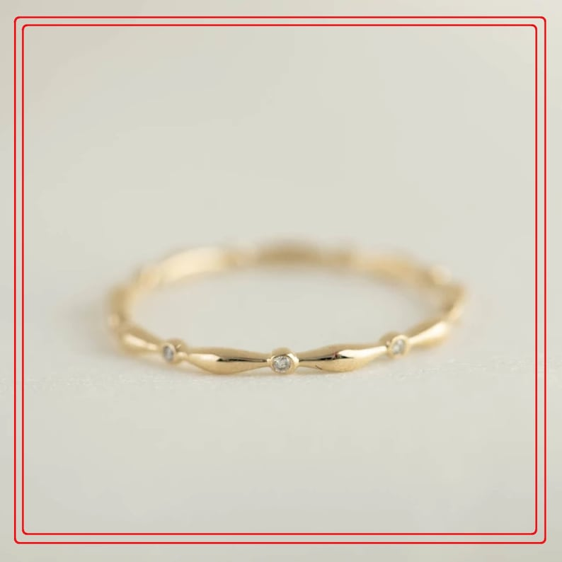 Diamond Gold Ring,18K Solid Gold Ring,Engagement Ring,Wedding Ring,Anniversary Gift,Gift For Her,Mother/'s Day Gift,Propose Ring,Women/'s Ring