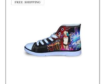 af2bf1d4be0664 Sneakers Harley Quinn Print