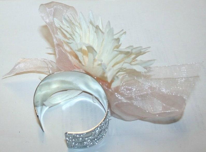 Wedding Accssories Flower Wristlet White-off Flower Corsage Prom Accessories