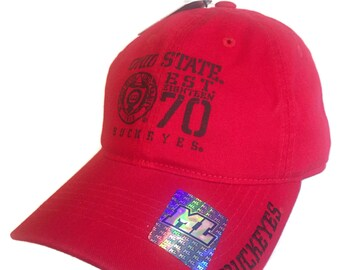 huge discount 1a1f6 269ac Ohio State Buckeyes Baseball Cap Adjustable New With Tags, Merge Left  Headwear 100% Cotton