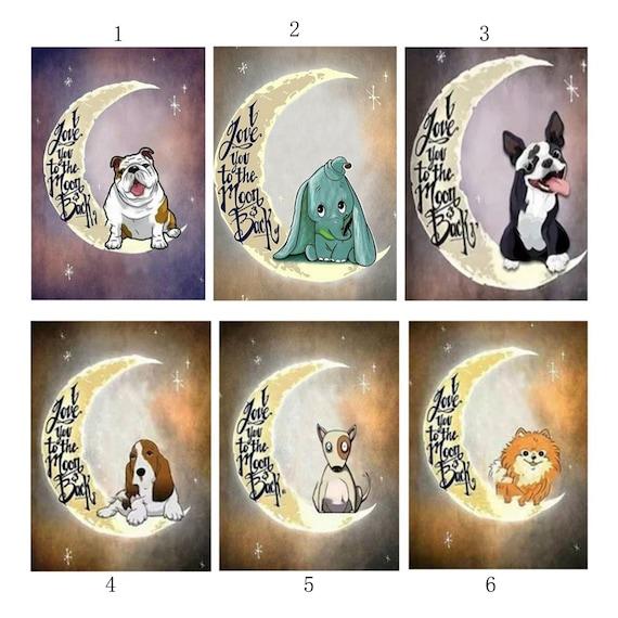 Cartoon Dog /& Hat 5D Diamond Embroidery Painting Kit DIY Animal Wall Decor