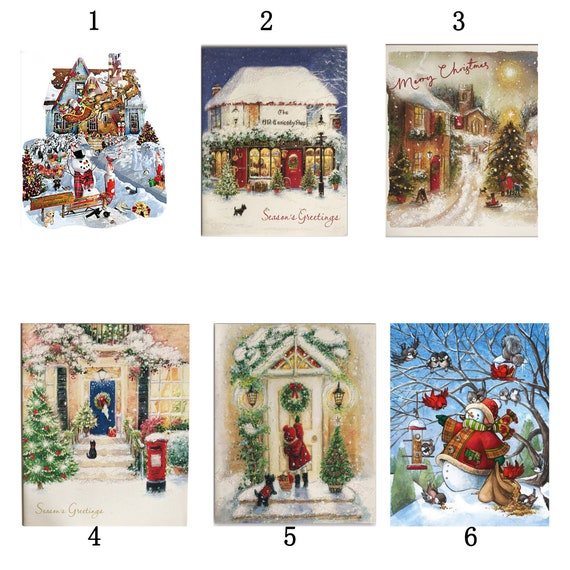 Christmas Gifts Full Drill 5D Diamond Painting Kits Embroidery Decor Snow House