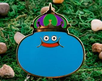 Dark Slime Dragon Quest Enamel Pin