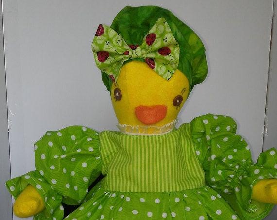 Chicka, 20 inch Handmade Doll