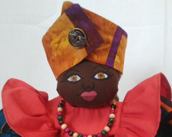 Aniya, 15 inch African American Doll