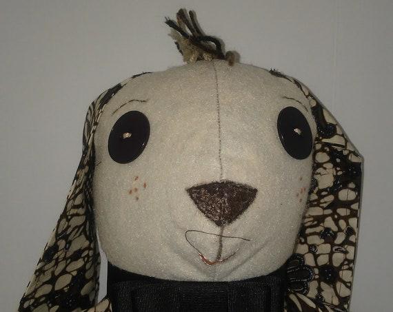 Oreo, 14 inch Handmade Bunny Rabbit