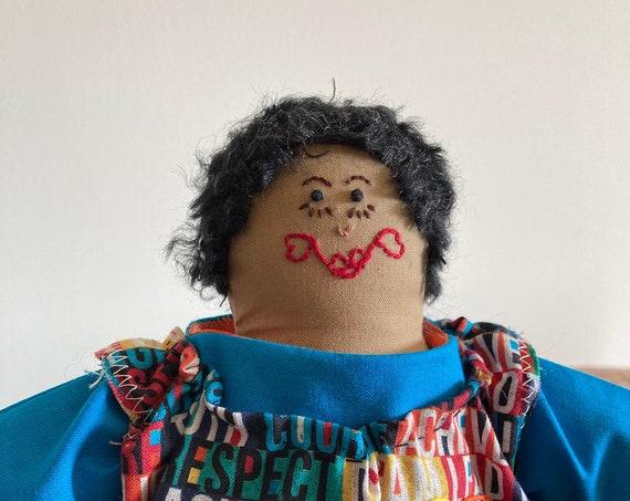 Reigne, 17 inch Handmade Gender-Neutral Doll