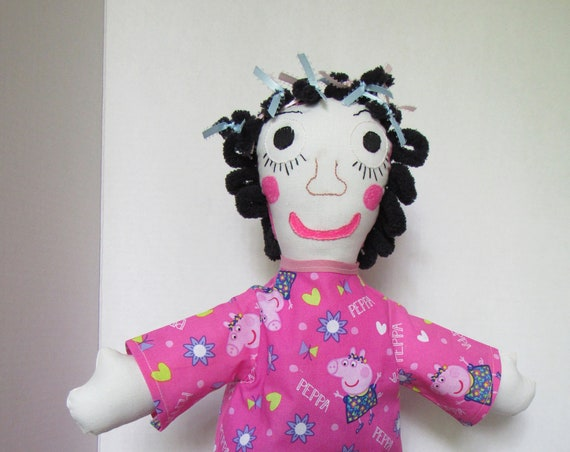 Pippa, 18 inch Fabric Doll