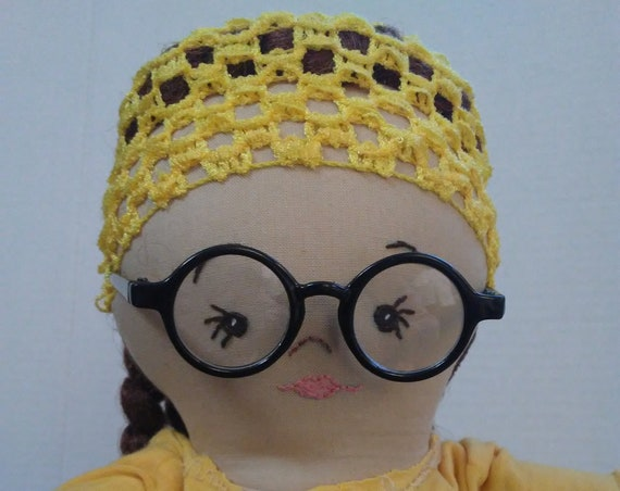 Essential Hero, Scientist/Virologist: Jasira, 20 inch Handmade Doll