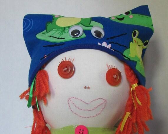 Alani, 20 inch Fabric Doll