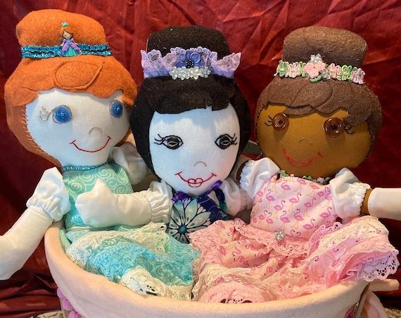 Pretty as a Princess 14 inch Handmade Doll