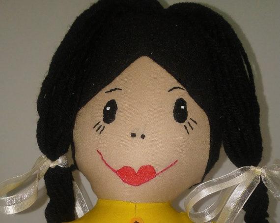 Mercedes, 26 inch Handmade Doll