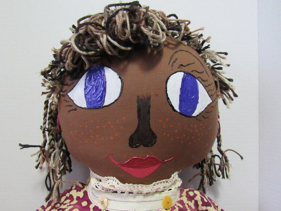 Sophie, Fabric Ethnic Doll