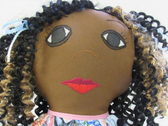 Sherilyn, 26 inch Fabric Doll