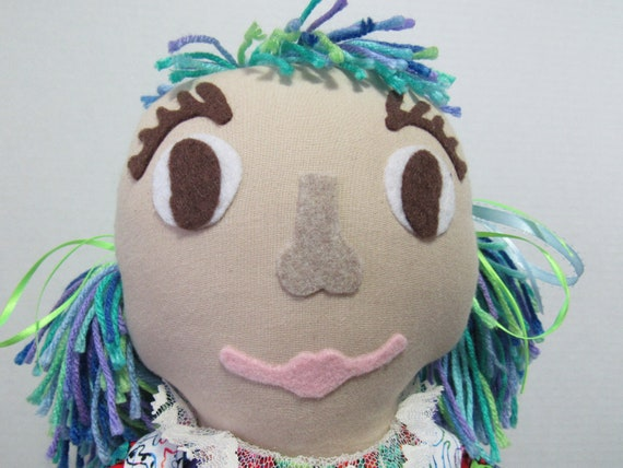 Debbie,  Fabric Doll
