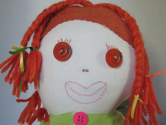 Alani, 20 inch Fabric Doll