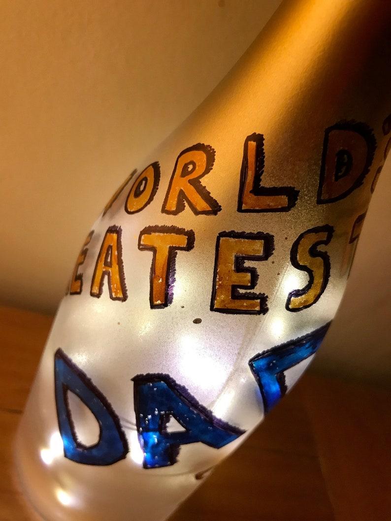 Father\u2019s Day wine bottle light