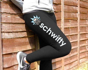 b8a5eefba8e40 Schwifty Rick Leggings | Rick, Morty, Get Schwifty, Schwifty Rick, Rick &  Morty, Rick and Morty, Pickle Rick, Gift For Her