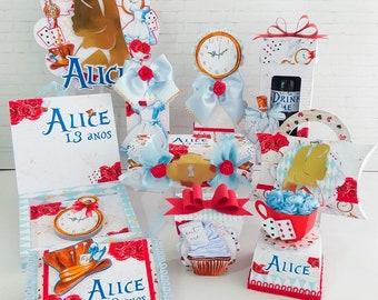 Party Custom Alice in wonderland