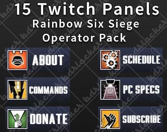 Rainbow six siege | Etsy