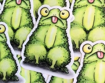 Chode Toad Sticker