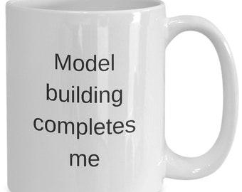 1bd577dded5 Model builder coffee mug complete gift model train model airplane white