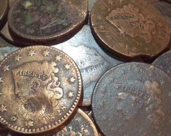 Random 1700s-1800s British Colonial Copper Rare Early American Treasure Coin