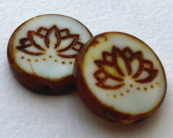 Lotus Flower Coin Etsy
