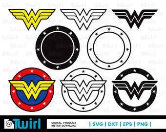 graphic regarding Wonder Woman Printable Logo named Speculate female symbol Etsy