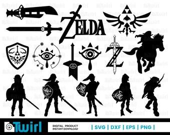 Zelda svg   Etsy
