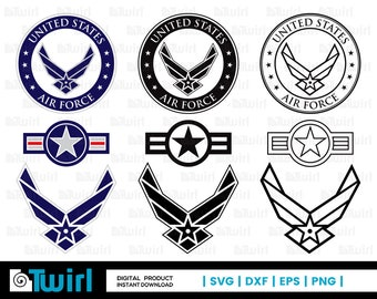 Air force svg | Etsy