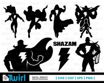 Shazam svg | Etsy
